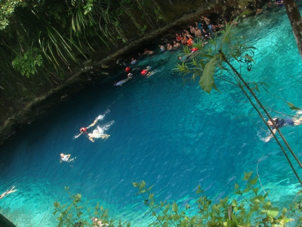 The Blue Waters of Enchanted River