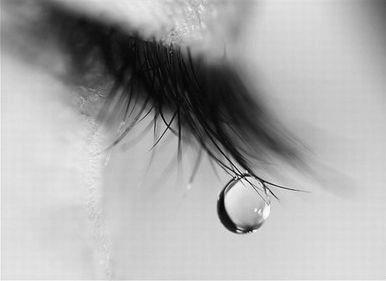crying tears