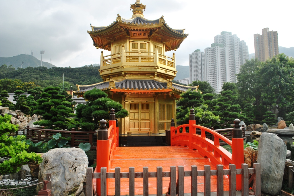 picturesquely designed with hills water features trees rocks and wooden structures the nan lian garden is a chinese classical garden with an - Nan Lian Garden