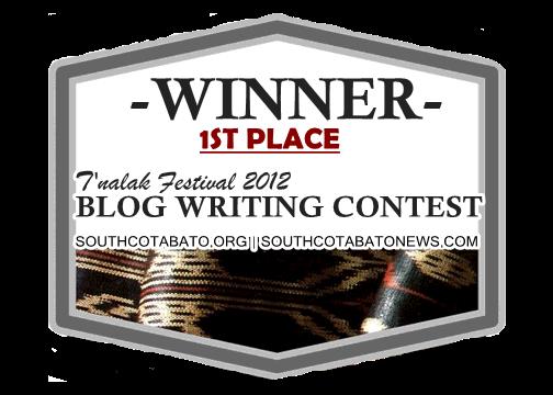 blog winner
