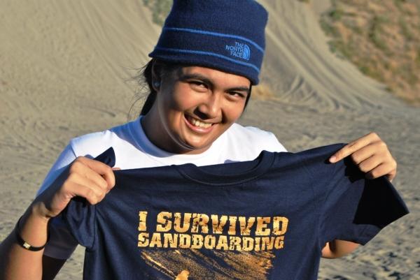 Sand Boarding Souvenir