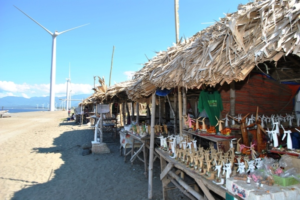 The Pasalubong Center at Bangui Windmills