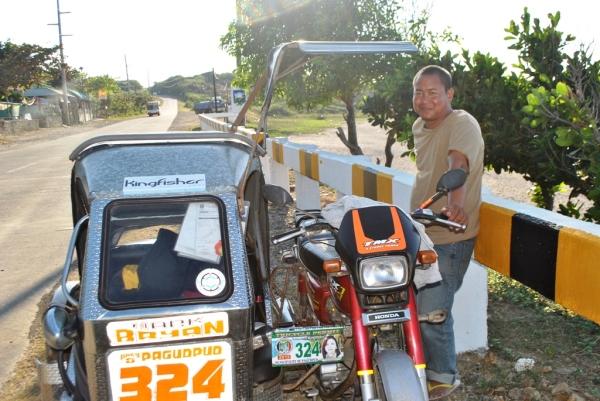 Pagudpud Trike Tour - Kuya Rene