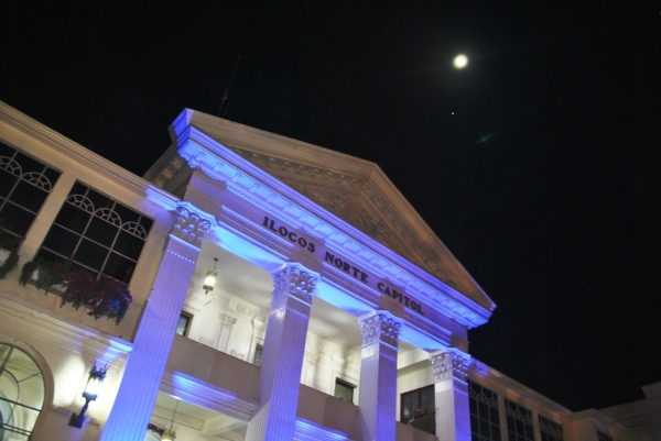 Ilocos Norte Capitol during the Night