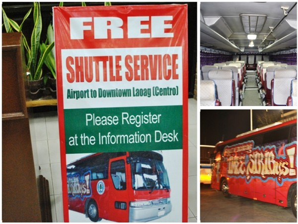 Laoag Free Shuttle