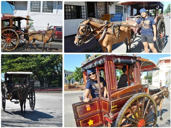 Kalesa in Ilocos