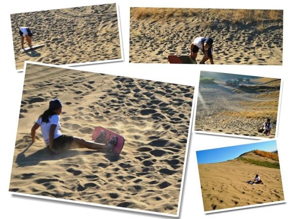 Sand Dunes Falls