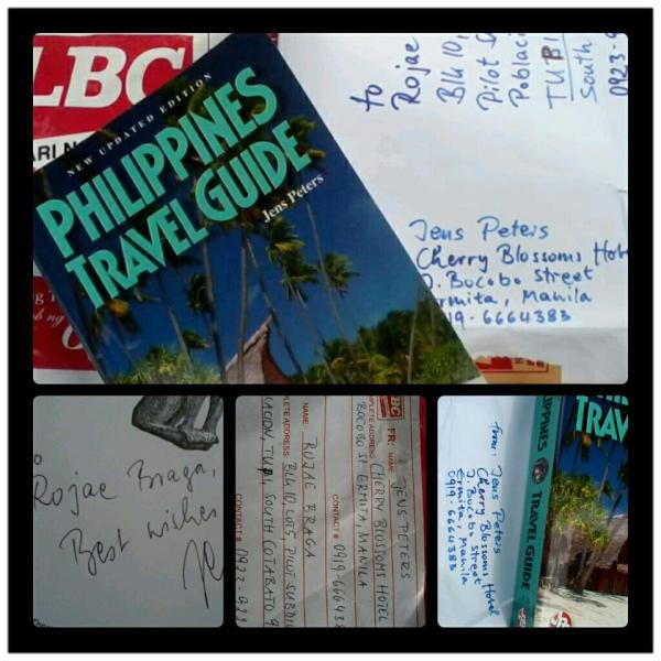 Phil Travel Guide 2012 by Jens Peters. Got myself a copy from the author himself! ^^,