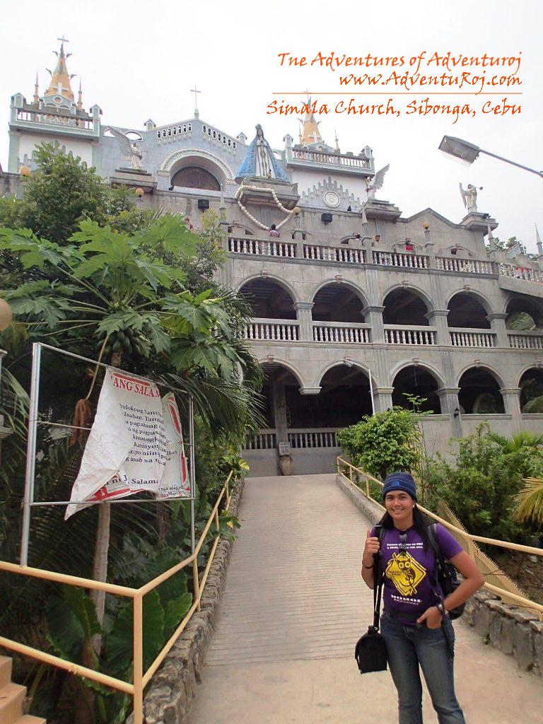how to go to simala church the adventures of adventuroj