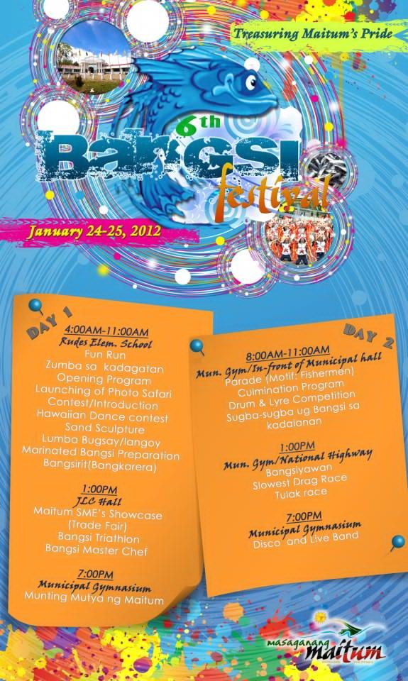 Bangsi Schedule 2013