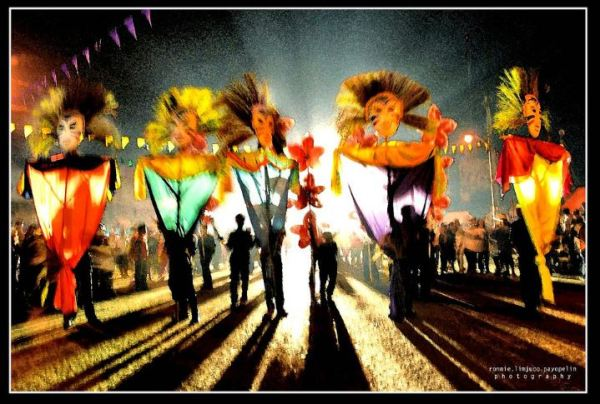 Colors, Lights, Sounds and Shadows filled the streets during the 2010 Hinugyaw Festival in Koronadal City, South Cotabato. Photo from Flickr
