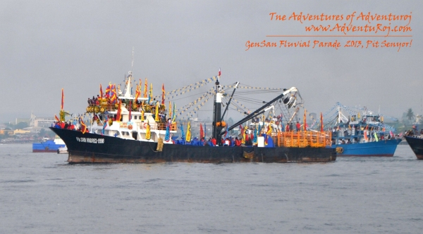 The Vessel Carrying the Sto Nino