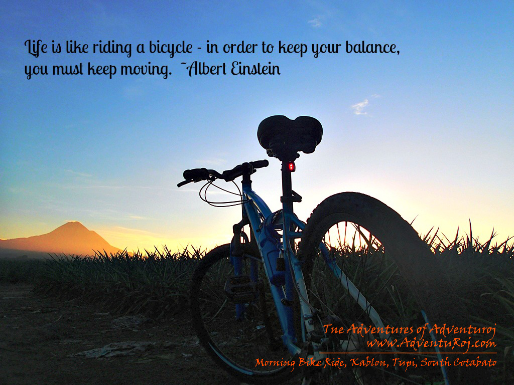 Bicycle Quotes The Adventures Of Adventuroj