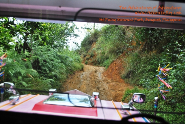 4x4 Jeepney Ride to Mt Pulag