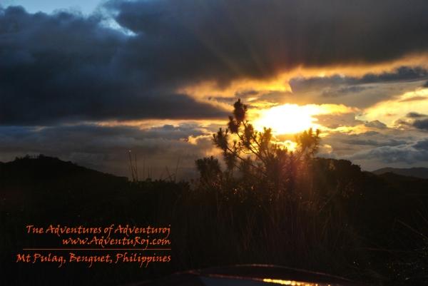 Mt Pulag Sunset