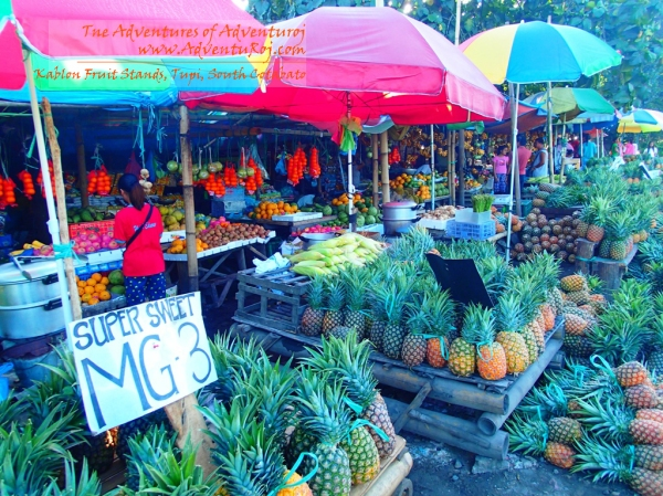 Endless Rows of Abundant Fruits, only in Brgy. Kablon, Tupi, South Cotabato
