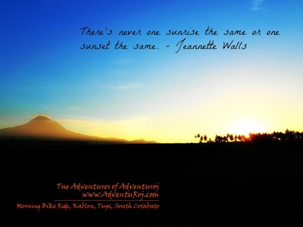photo of sunrise
