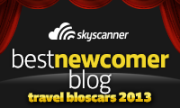 Travel Blog Oscars Best Upcoming/Newcomer Blog: Adventuroj!