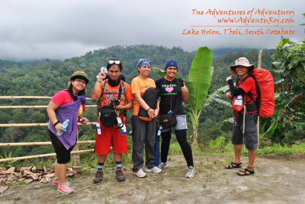 Lake Holon Climbers
