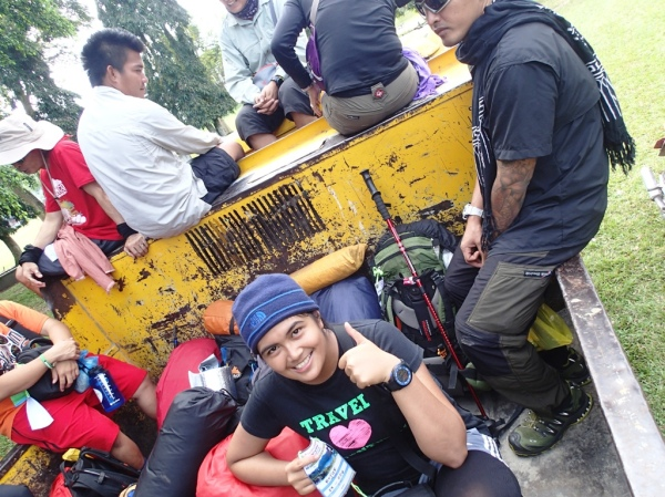 Dam Truck Ride