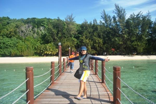 Island Hopping at Kota Kinabalu