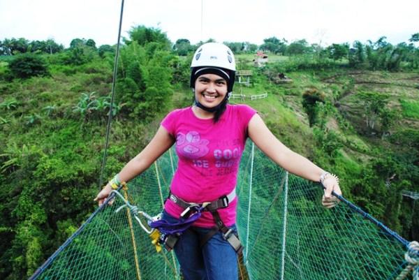 Zipline in Bukidnon