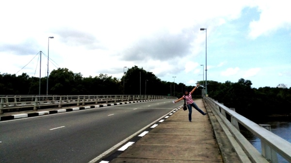 I own this road in Brunei!