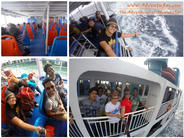 Boat to Camiguin
