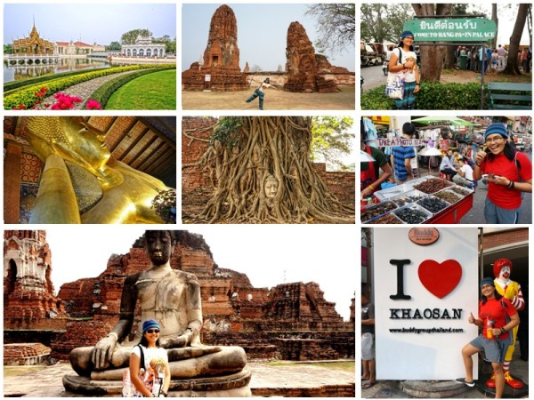 Ayutthaya - Reclining Buddha - Khao San Road